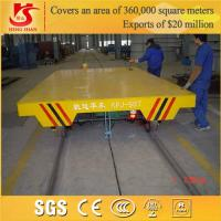Wholesale Industrial Rail Mounted Flat Trolley & Flat Bed Trolley from china suppliers