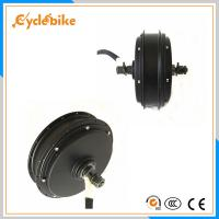 Wholesale 48v - 96v 5000w 140N.M Front Wheel Electric Hub Motor 120km/h from china suppliers