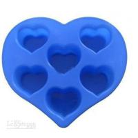Wholesale Silicon Kitchen Ware, Heart Shaped Silicone Mould For Cake / Chocolate / Candle / Soap from china suppliers
