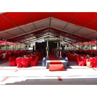 Wholesale Large Outdoor Wedding Tent Aluminum Frame Material With PVC cloth UV Resistance from china suppliers