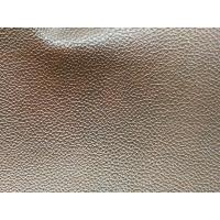 Wholesale Embossed Faux Leather Fabric For Handbags , Faux Cowhide Upholstery Fabric from china suppliers