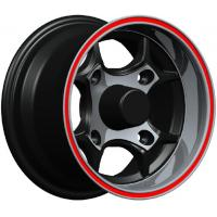 Wholesale High Performance 12 Inch Alloy Wheels , Red Lip kin-1025 from china suppliers