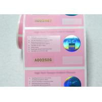 Wholesale Warranty VOID Hot Stamping Custom Security Labels Full Colors Printing With Unique Serial Number from china suppliers