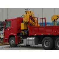 Wholesale Durable XCMG Knuckle Boom Truck Mounted Crane , Cargo Crane Truck from china suppliers