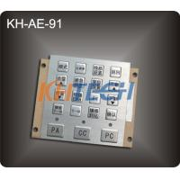 Wholesale Driving console metal keypad from china suppliers