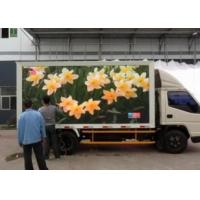 Wholesale Video P10 Led Mobile Display Board , Truck Mounted Led Screen Full Color from china suppliers
