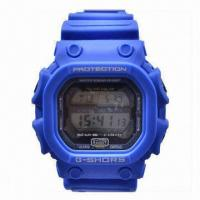 Wholesale Waterproof Solar Power Silicone Wrist Watch with SGS, RoHS and CE Certifications from china suppliers