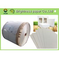 Wholesale Coated Paperboard White Back Duplex Board Sheet / Roll 250gsm ~ 450gsm from china suppliers