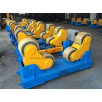 Quality 20 Ton Rotary Capacity Pipe Welding Rollers Optional Wireless Remote control for sale