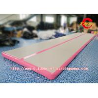 Wholesale Inflatable Air Tumbling Track Mattress / Cheerleading Club Inflatable Tumble Track from china suppliers