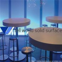 Wholesale Commercial Acrylic Solid Surface Bar Table from china suppliers