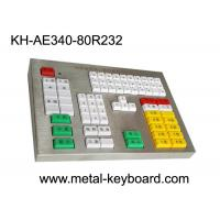 Wholesale R232 Interface Panel Customization Industrial Metal Keyboard For Transportation Area from china suppliers