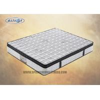 Wholesale Bonnell Spring Queen Size Euro Top Mattress With Knitted Fabric Soft Foam Topper from china suppliers
