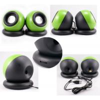 Wholesale 2.0 Channel USB Powered Computer Speakers , Mini Digital Computer Speakers Ball Shape from china suppliers