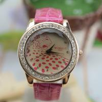 Wholesale Beautiful Czech Diamond Womens Quartz Watches Water Resistant from china suppliers
