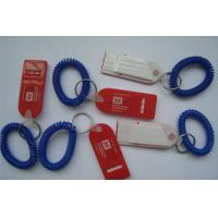 Wholesale Plastic Spring Wrist Coil Cord W/Flat Whistle for Promotion from china suppliers