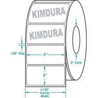 """Wholesale Thermal Transfer White Kimdura Roll Labels White 4"""" x 2"""" from china suppliers"""