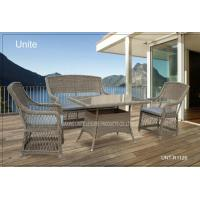 Buy cheap Outdoor Rattan Chairs With Table Set , Garden Table And Chairs For Conservatory from wholesalers