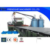 Wholesale High Speed PU Sandwich Panel Line , Roll Forming Machinery from china suppliers