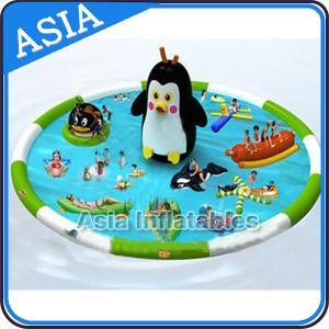 Wholesale Penguin Shape Inflatable Water Park , Inflatable Water Park Slides Combo from china suppliers