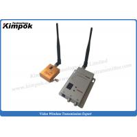 Wholesale 10km LOS FPV Wireless Video Sender Lightweight 1200Mhz Image Transmitter Zero Latency from china suppliers