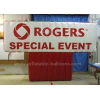 Quality Customized Inflatable Advertising Balloons / Advertisement Billboard With Blower for sale