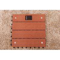 Wholesale Wpc decks  interlocking outdoor flooring with solar light from china suppliers