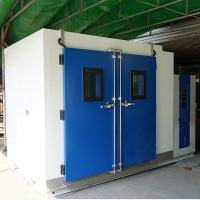 Wholesale CE certificated White Walk In Temperature Humidity Environmental Test Chamber from china suppliers