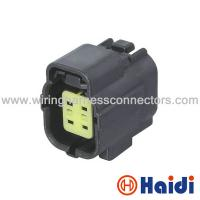 Wholesale 4 Holes Automotive Electrical Wire Connectors Female Plastic Black 174257-2 from china suppliers