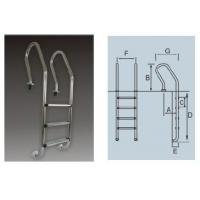 Wholesale SF Series Stainless Steel Pool Ladder from china suppliers