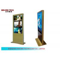 "Wholesale Golden Free Standing Network Digital Signage ,  55"" LCD Advertising Display from china suppliers"