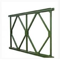 Wholesale Prefabricated Steel Bridge With Deck , Portable Launching Military Temporary Bridge from china suppliers