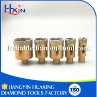 Wholesale Grit for 35#/40 M10 Brazed Diamond Core Drill Bit for Stone/Ceramic/Glass from china suppliers