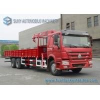 Wholesale 336 HP SINOTRUK HOWO 6x4 Truck Mounted Crane XCMG 14T Crane CCC from china suppliers