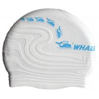 Multi Color Unisex Silicone Swimming Caps , Waterproof Swimming Hats For Adult