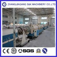 Wholesale PPR Pipe Extruder Single Screw Extrusion Process 12 M/Min Speed from china suppliers