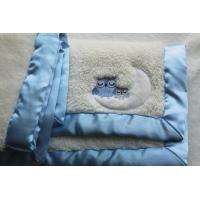 "Wholesale 100% Polyester 30""*40"" Owl Pattern Sherpa Fleece  Baby Winter  Blanket from china suppliers"