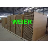 Wholesale PLC Automatic WPC Board Production Line For Door Panel , Conical Twin-Screw Extruder from china suppliers