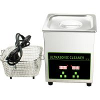 Wholesale Stainless Steel 304 Digital Ultrasonic Cleaner For Watches Silver Jewelry Lens Eyeglass from china suppliers