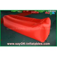 Wholesale Nylon Cloth Lightweight Sleeping Air Bag Pop up Sofa Air Couch Beach Inflatable from china suppliers