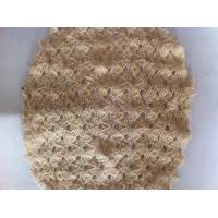Wholesale Lightweight Flexible Knitted Fabric Mesh Netting , Stretch Clothing Shell Fabric from china suppliers
