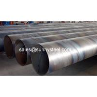 Quality SunnySteel are a manufacturer of SAW pipe with high quality for sale