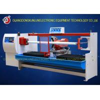 Wholesale Professional Thermal Paper Roll / Jumbo Roll Cutting Machine PLC Touch Screen Control from china suppliers