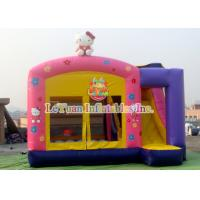 Wholesale Theme Hello Kitty Inflatable Bounce House With Slide For Party from china suppliers