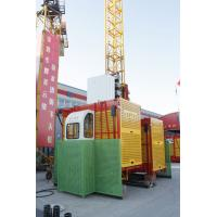 Wholesale Computer Aided VF-speed Rack and Pinion Elevator, Construction Material Hoist SC200 from china suppliers