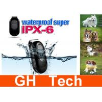 Wholesale Mini IPX6 Waterproof Dog GPS Tracker , Quad Band 2G GSM / GPRS Tracker from china suppliers