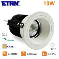Wholesale ETRN Brand CREE COB LED 2.5 inch 10W Dimmable LED Downlights Ceiling Lights Recessed light from china suppliers