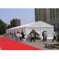 Wholesale Movable Aluminum Frame 200 Person Tent PVC 10x24m No Pole Inside from china suppliers