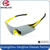 Wholesale Anti - Scratch CE EN166 Cycling Outdoor Sport Sunglasses UV400 Sports Goggles from china suppliers