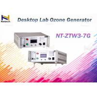 Buy cheap Desktop Lab 110V / 220V Commercial Ozone Generator Air Purifier Feed Oxygen from wholesalers